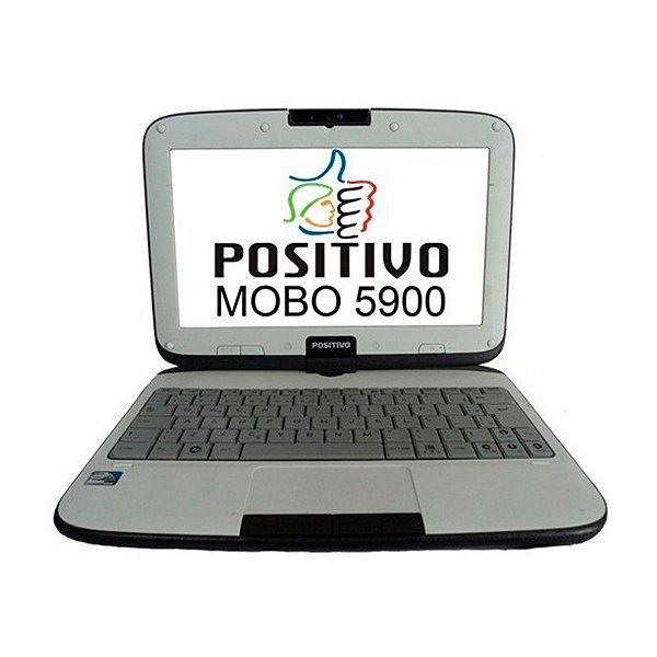 """Netbook Positivo MOBO 5950 Intel Atom 2GB DDR3 Linux 10"""" (Seminovo)"""