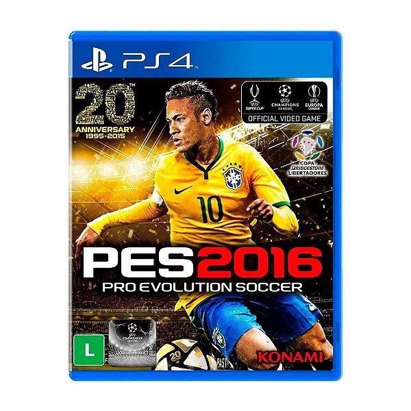 Jogo PES 2016 - PS4 Seminovo