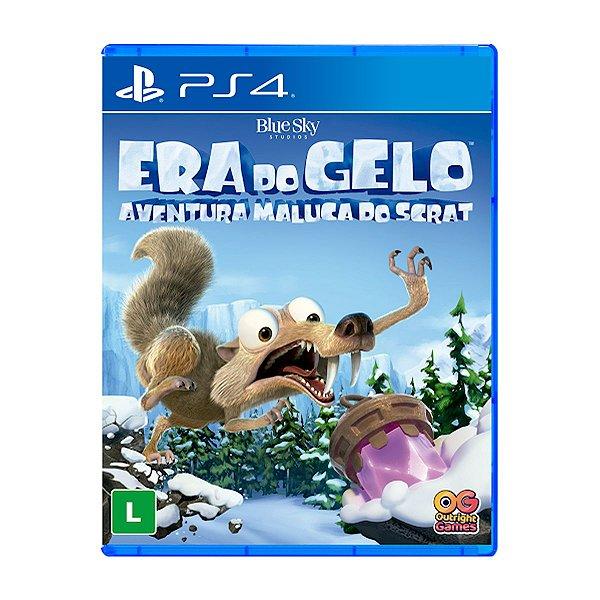 Jogo Era do Gelo Aventura Maluca do Scrat - PS4 Seminovo