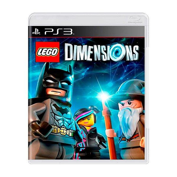 Jogo LEGO Dimensions Só Disco - PS3 Seminovo