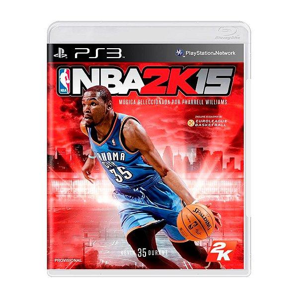 Jogo NBA 2K15- PS3 Seminovo