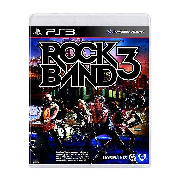 Jogo Rock Band 3 - PS3 Seminovo