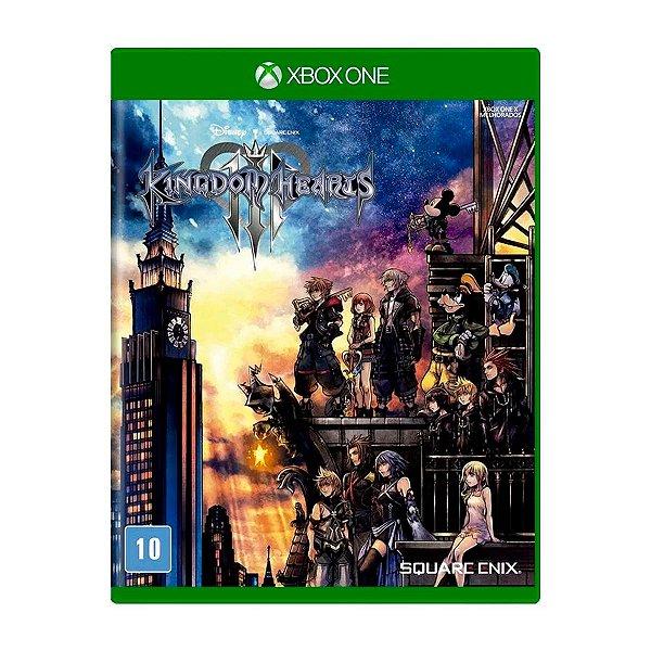 Jogo Kingdom Hearts 3 - Xbox One Seminovo
