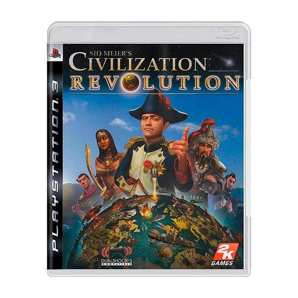 Jogo Sid Meier's Revolution - PS3 Seminovo