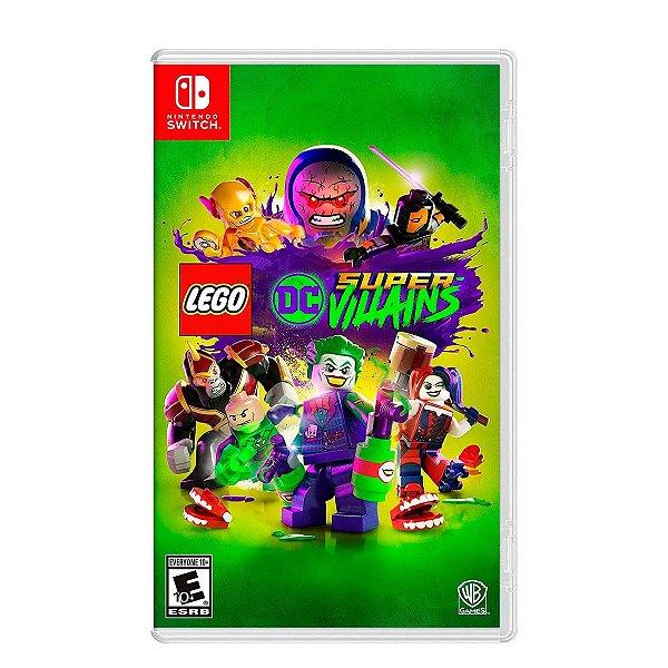 Jogo LEGO DC Super Villains - Switch Seminovo