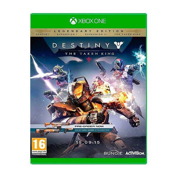 Jogo Destiny The Taken King - Xbox One Seminovo