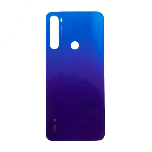 Pç Xiaomi Tampa Traseira Redmi Note 8T Azul Vidro