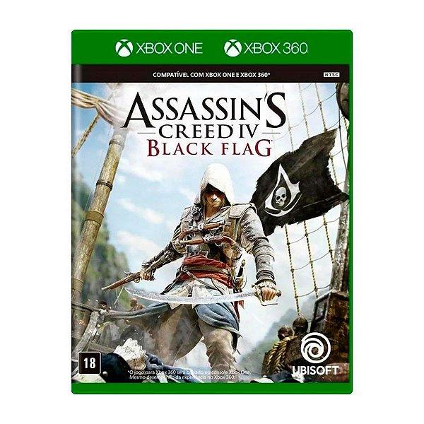 Jogo AssassinS Creed IV Black Flag - Xbox 360 / Xbox One Seminovo