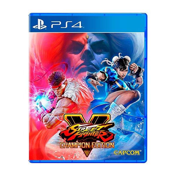 Jogo Street Fighter V Champion Edition - PS4 Seminovo