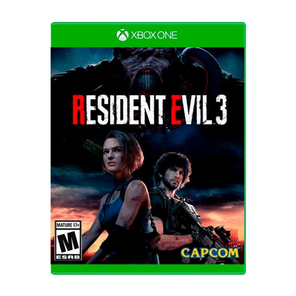 Jogo Resident Evil 3 - Xbox One Seminovo