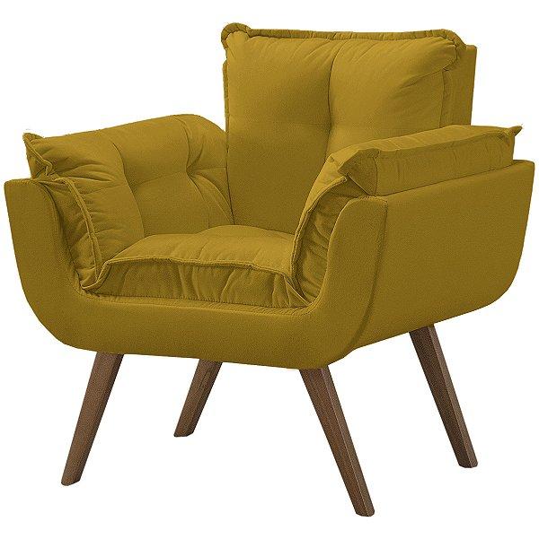 Poltrona Opalla Soft Minas - Amarelo