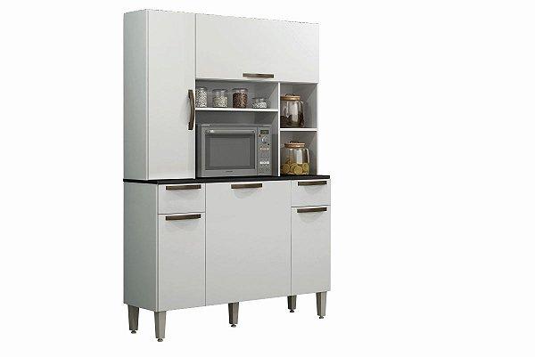 Armario De Cozinha Safira Branco Sallêto