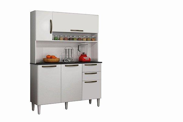Armario De Cozinha Napoles Branco Sallêto