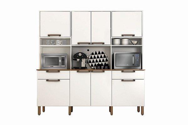 Armario De Cozinha Imola Branco Sallêto