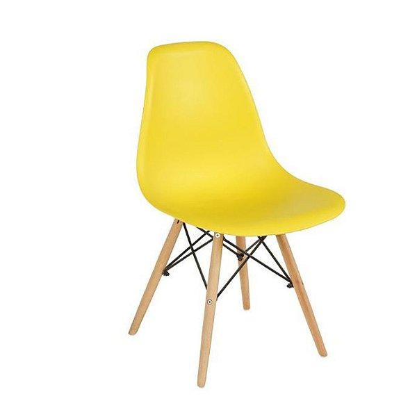 Cadeira Eames Cor Amarela
