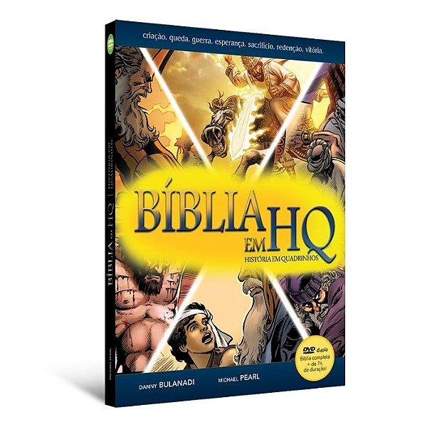 Bíblia em HQ com DVD duplo (Capa dura)