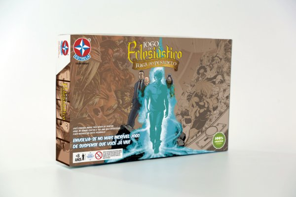 JOGO DO ECLESIÁSTICO - Fuga do Pesadelo (pré-venda) Boardgame exclusivo