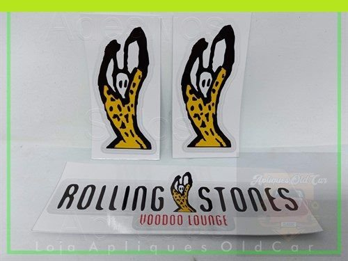 ADESIVOS GOL G2 - SÉRIE ROLLING STONES 1995