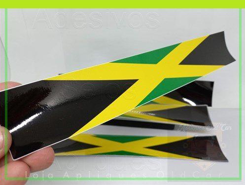 ADESIVO FAIXA BANDEIRA JAMAICA