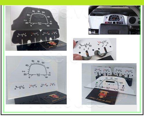Apliques Painel de Instrumentos - Toyota Bandeirantes