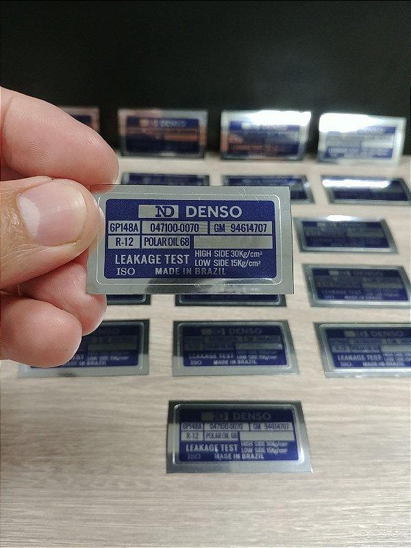 Adesivo Selo ND DENSO - Compressor de AR condicionado Linha GM
