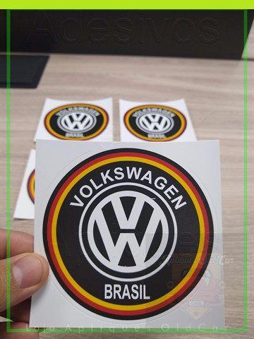 Adesivo Volkswagen Brasil - Cores da Alemanha - Adesivo Decorativo