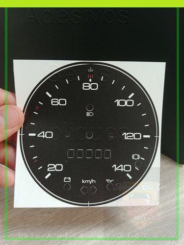 APLIQUE VELOCÍMETRO FUSCA 1300, 1500 (75 a 79) - 140KM - MODELO 394
