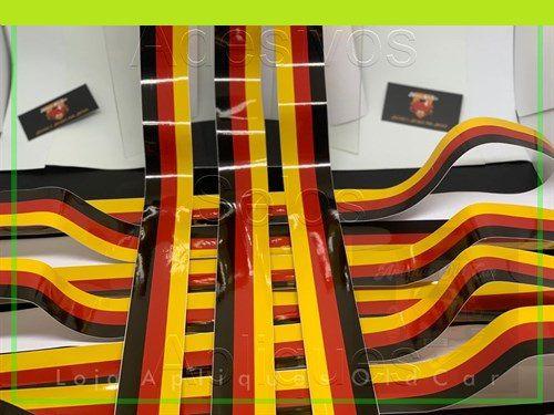 Adesivo Faixa Decorativa Cores - Alemanha - Faixa 5cm_x_1metro
