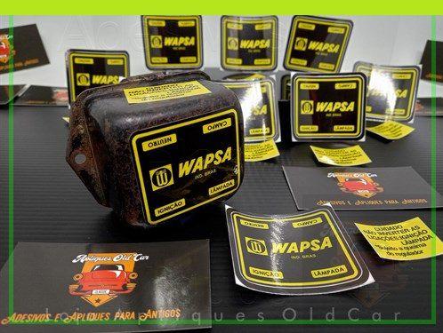 Adesivos Tampa Regulador de Tensão Wapsa - Dodge - (Dart, Charger, Magnum, Polara, Challenger)