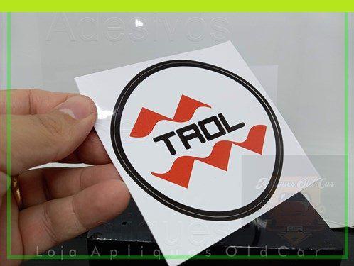 Adesivo Trol - Adesivo Retrô Antigo Brinquedos Trol - (Colagem Externa ou Interna)