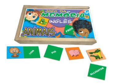 MEMORIA  ANIMAIS INGLES