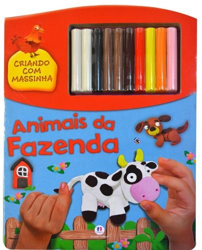 Animais da fazenda (livro massinha)