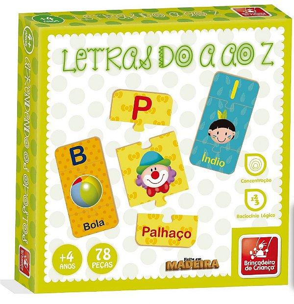 LETRAS DO A AO Z