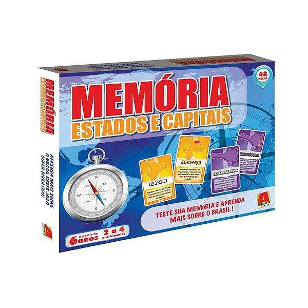 MEMORIA ESTADOS E CAPITAIS