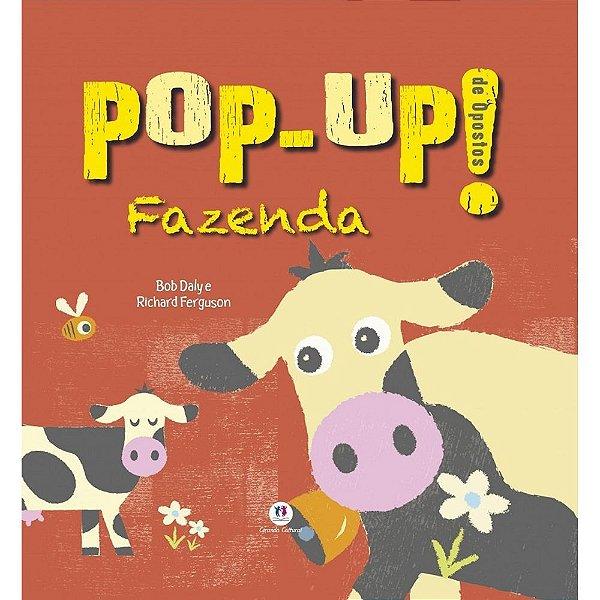 Livro Pop Up Fazenda de Opostos