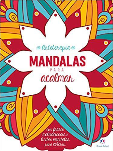 Mandalas - livro para colorir e acalmar