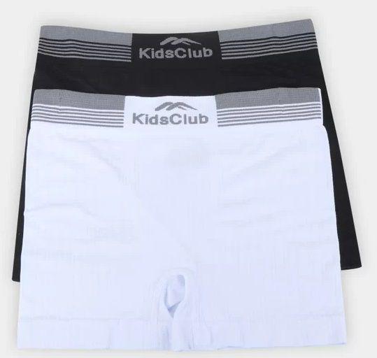 Kit 2 Cuecas Boxer Infantil Sem Costura Kids Club DelRio