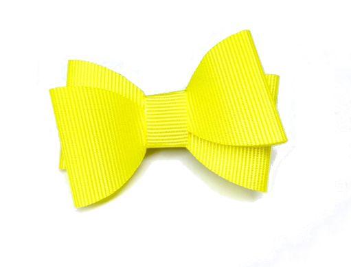 Clips Minnie Amarelo em Gorgurão