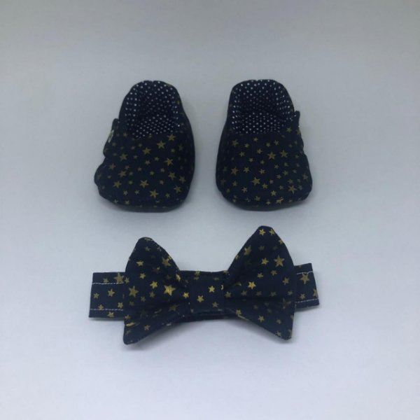Sapatinho e Gravata Estrela