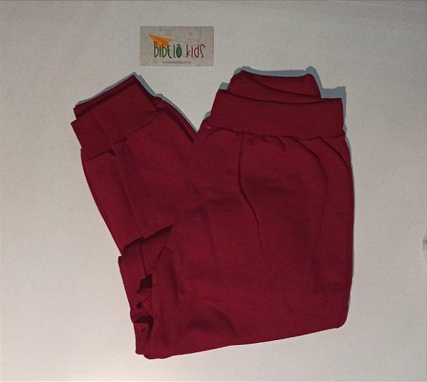 Calça Jogger Vermelha Hrradinhos