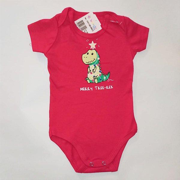 Body Dinossauro Natal Brandili Baby