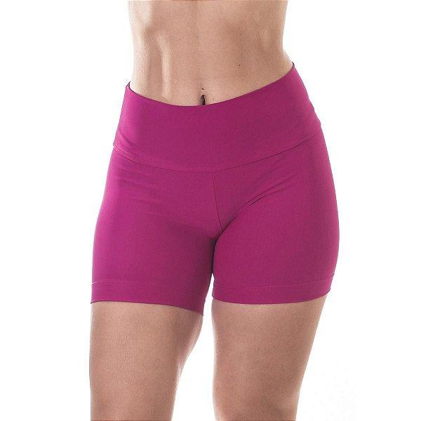 Shorts Fitness Rosa UVA50+ Poliamida