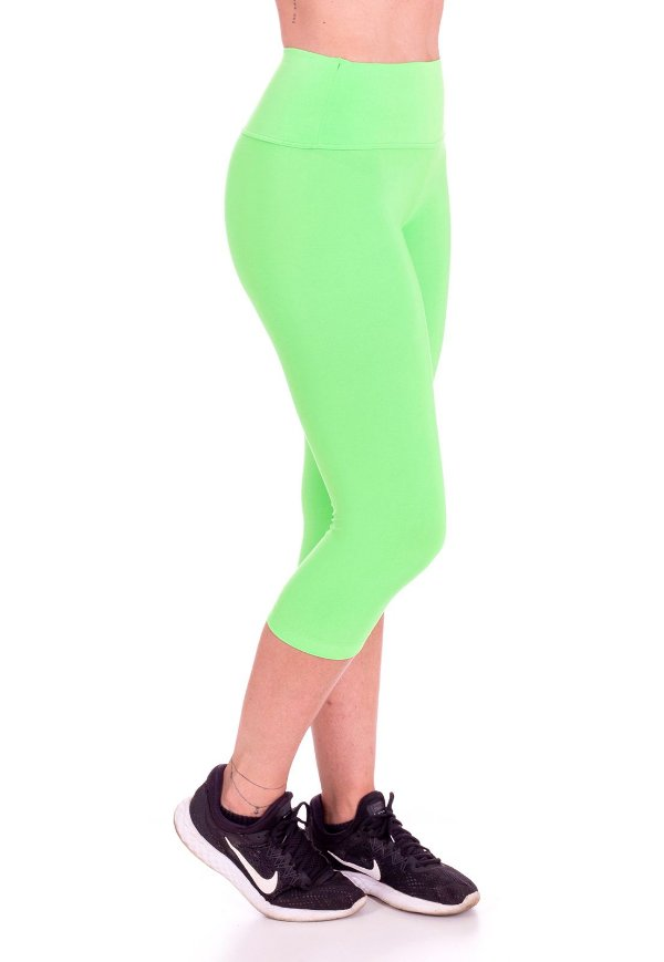 Calça Corsário Neon Multicor Lisa