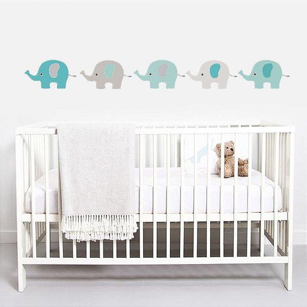 Adesivo Parede Infantil Elefante Grande