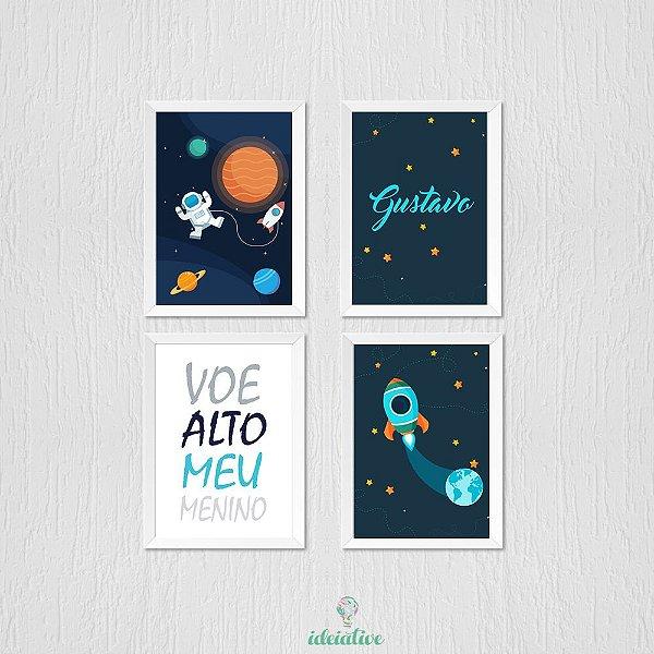Kit de Quadro Astronauta