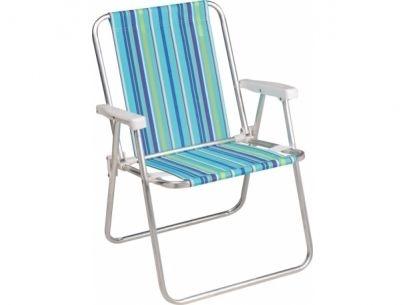 Cadeira Mor Alta Alumínio