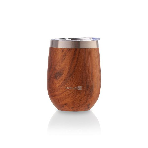 Copo Térmico Kouda 360ml Wood