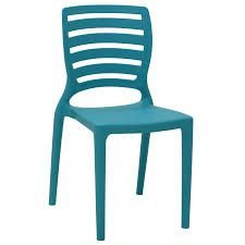 Cadeira Tramontina Sofia Azul