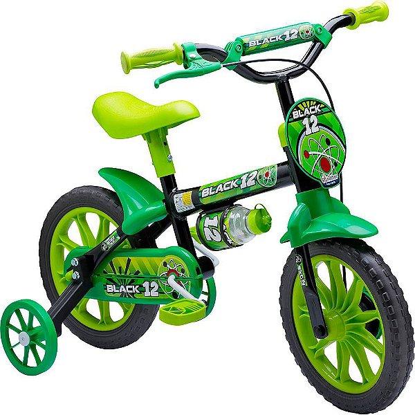 Bicicleta Nathor Aro 12  Black 12