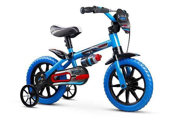 Bicicleta Nathor Aro 12 Veloz 2 Selim PU Macio
